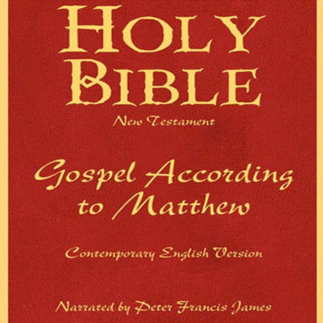 Holy Bible CEV: The Gospel of Matthew Volume 22