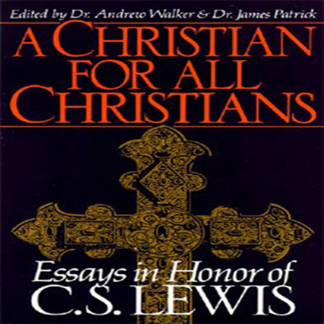 c.s. lewis christian apologetics essay Cs lewis essay collection & other short pieces has 157 ratings and 23 reviews while going through cs lewis essays apologetics, literary theory.