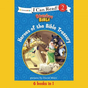 Heroes of the Bible Treasury (I Can Read!/Adventure Bible)