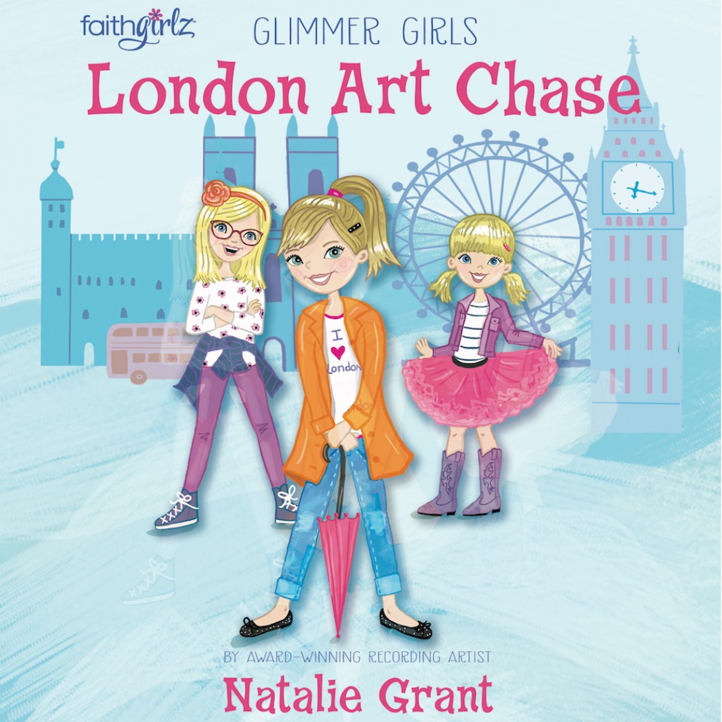 London Art Chase (Faithgirlz/Glimmer Girls Series, Book #1)