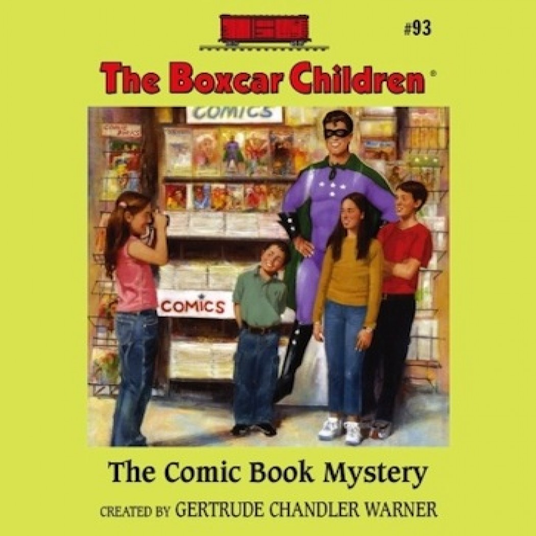 The Comic Book Mystery