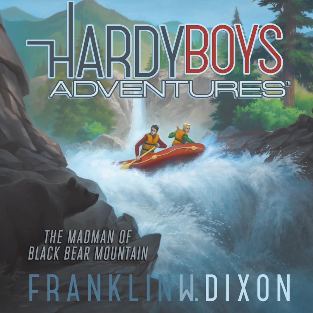 The Madman of Black Bear Mountain  (Hardy Boys Adventures, Book #12)