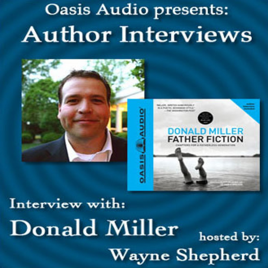 Author Interview with Donald Miller