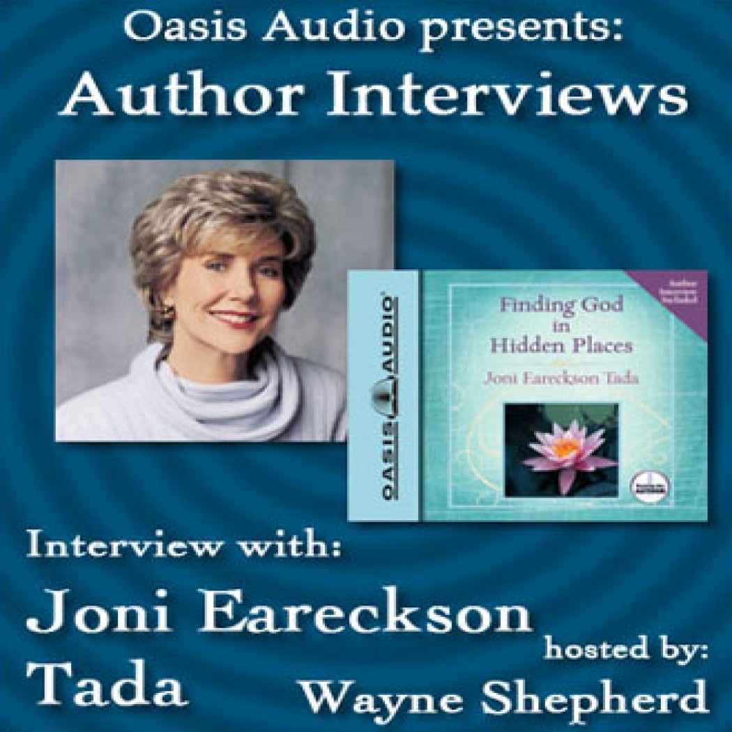 Author Interview with Joni Eareckson Tada
