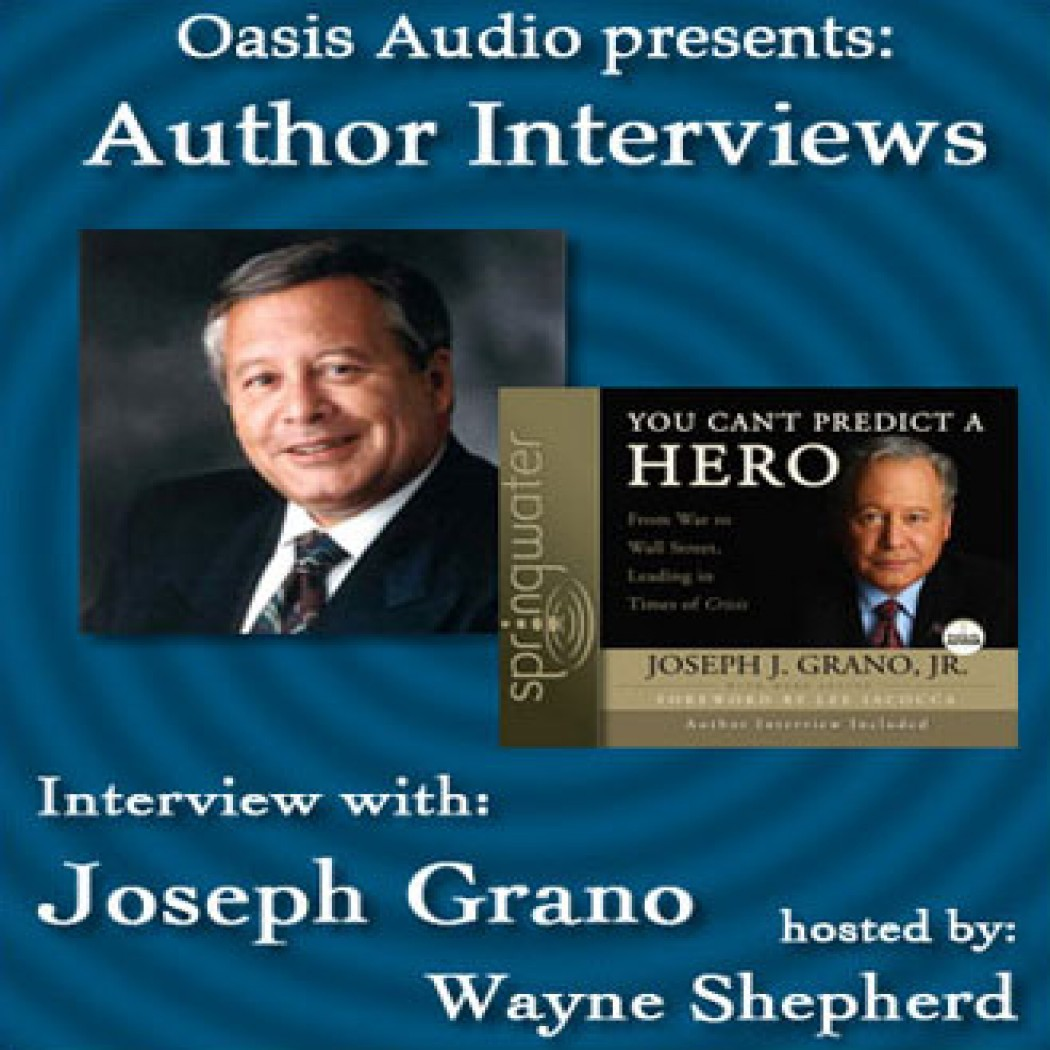 Author Interview with Joseph Grano