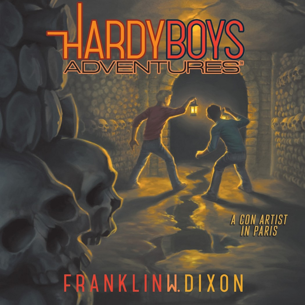 A Con Artist in Paris (Hardy Boys Adventures, Book #15)