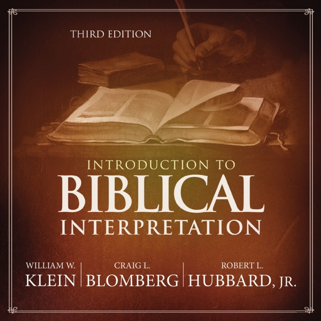 Introduction to Biblical Interpretation: Audio Lectures