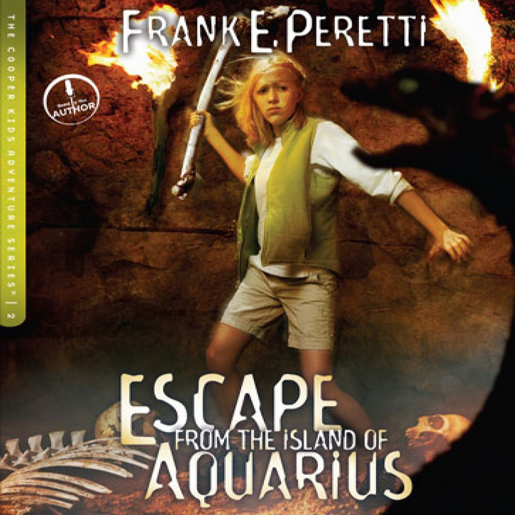 Escape from the Island of Aquarius (The Cooper Kids Adventure Series, Book #2)