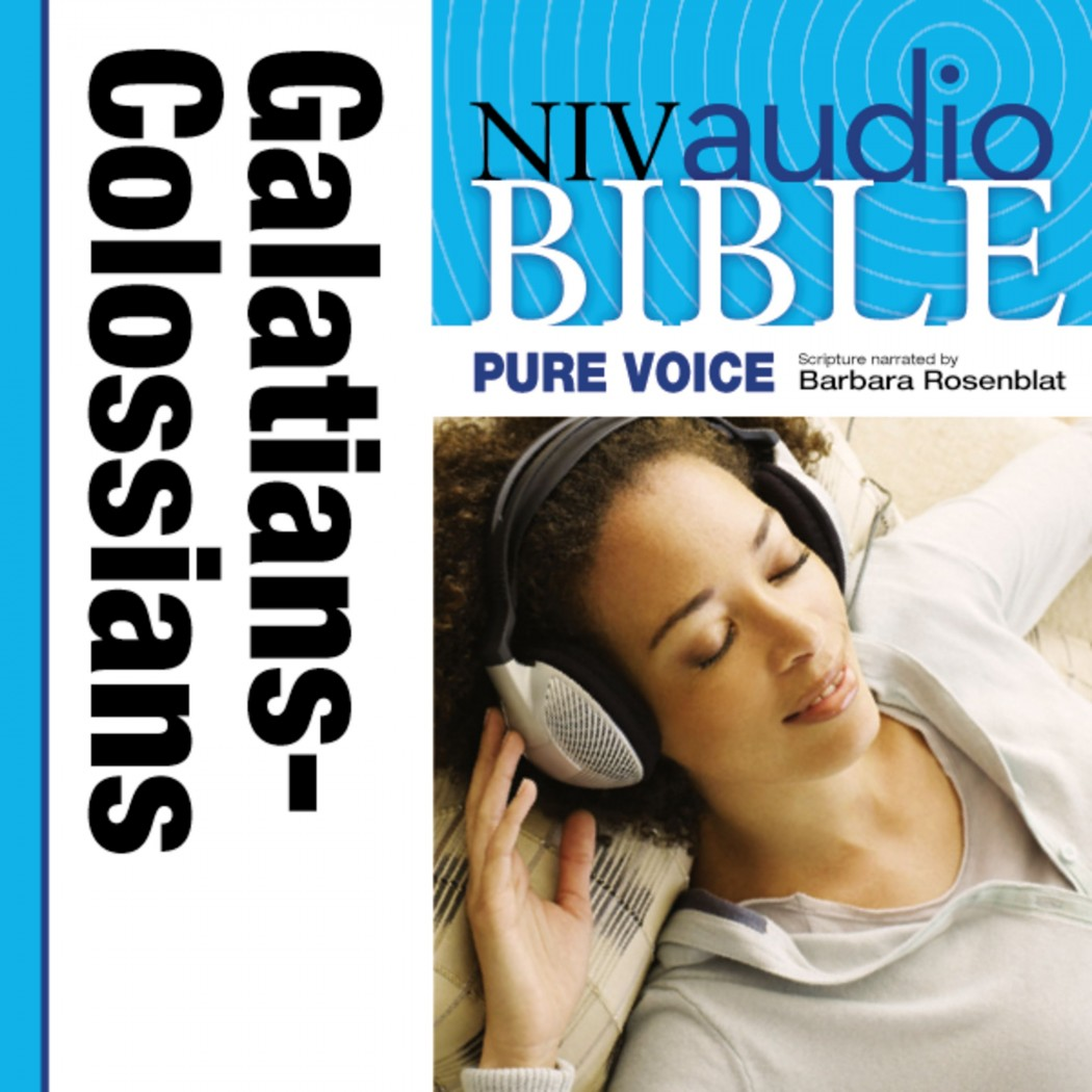 Pure Voice Audio Bible - New International Version, NIV (Narrated by Barbara Rosenblat): (08) Galatians, Ephesians, Philippians, and Colossians