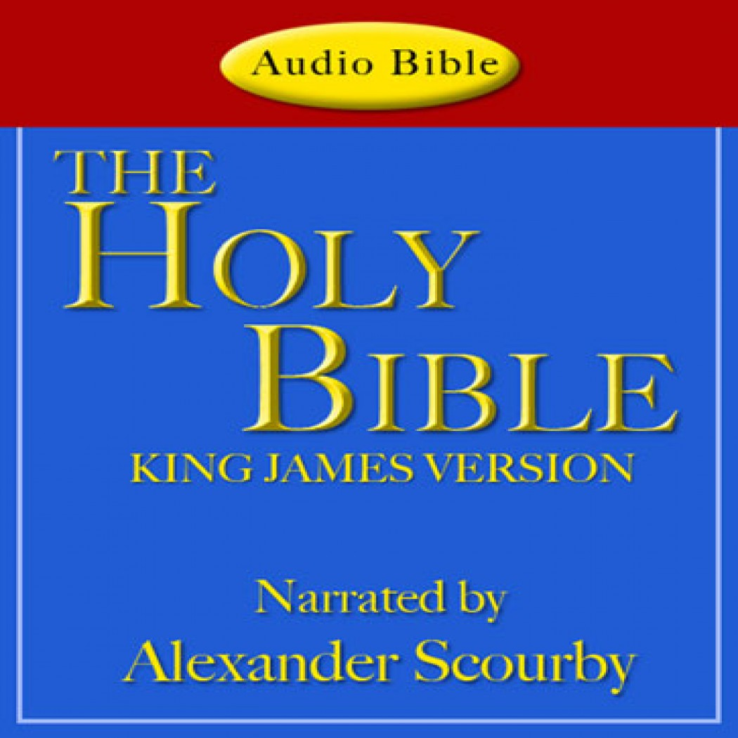 Special offer – king james dvd read by alexander scourby – power bible.