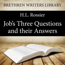 Job's Three Questions and their Answers