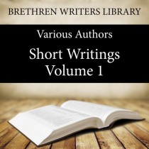 Short Writings Volume 1