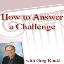 How to Answer a Challenge