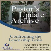 Pastor's Update: 7018 - Confronting the Leadership Crisis