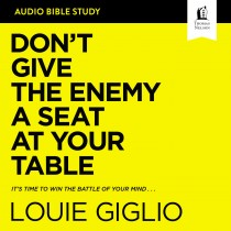 Don't Give the Enemy a Seat at Your Table: Audio Bible Studies