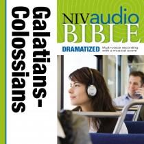 Dramatized Audio Bible - New International Version, NIV: (36) Galatians, Ephesians, Philippians, and Colossians
