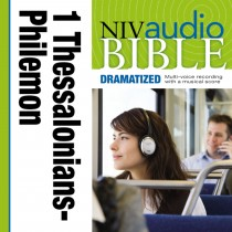 Dramatized Audio Bible - New International Version, NIV: (37) 1 and 2 Thessalonians, 1 and 2 Timothy, Titus, and Philemon
