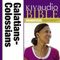 Dramatized Audio Bible - King James Version, KJV: (36) Galatians, Ephesians, Philippians, and Colossians