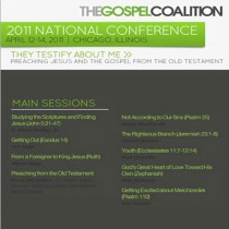 The Gospel Coalition 2011 National Conference