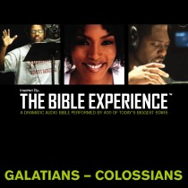 Inspired By … The Bible Experience Audio Bible - Today's New International Version, TNIV: (36) Galatians, Ephesians, Philippians, and Colossians