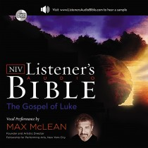 Listener's Audio Bible - New International Version, NIV: (03) Luke