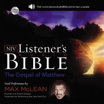 Listener's Audio Bible - New International Version, NIV: (01) Matthew