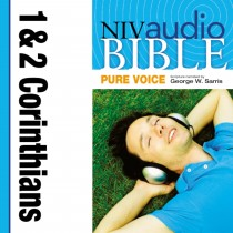 Pure Voice Audio Bible - New International Version, NIV (Narrated by George W. Sarris): (35) 1 and 2 Corinthians