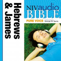 Pure Voice Audio Bible - New International Version, NIV (Narrated by George W. Sarris): (38) Hebrews and James