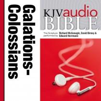 Pure Voice Audio Bible - King James Version, KJV: (34) Galatians, Ephesians, Philippians, and Colossians
