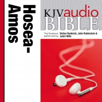 Pure Voice Audio Bible - King James Version, KJV: (23) Hosea, Joel, and Amos