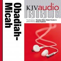 Pure Voice Audio Bible - King James Version, KJV: (24) Obadiah, Jonah, and Micah