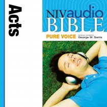 Pure Voice Audio Bible - New International Version, NIV (Narrated by George W. Sarris): (33) Acts