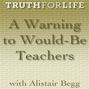 A Warning to Would-Be Teachers