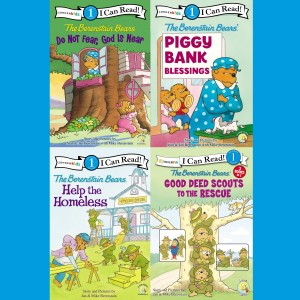 The Berenstain Bears I Can Read Collection 1 (I Can Read! / Berenstain Bears / Living Lights: A Faith Story)