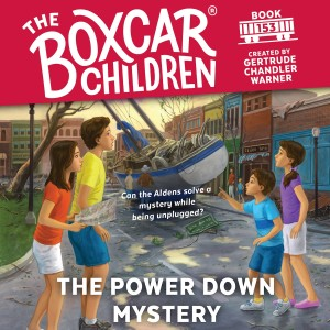 The Power Down Mystery (The Boxcar Children, #153)