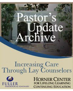Pastor's Update: 7004 - Increasing Care through Lay Counselors